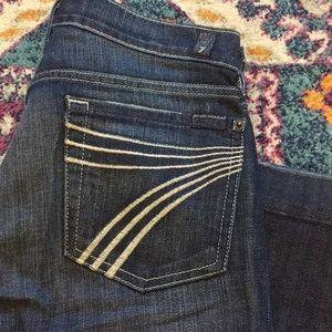 Rare Size 28 Dojo Jean - 7 For All Mankind